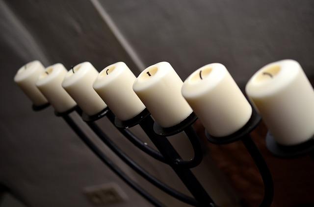 zhaslé svíčky