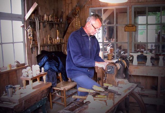 dřevozpracující muž