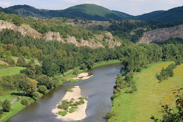 řeka berounka