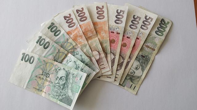 vějíř peněz