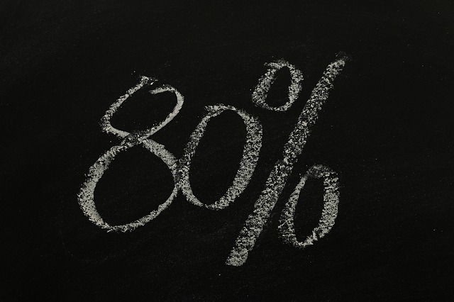 osmdesát procent