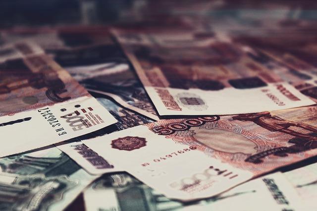 ležící bankovky