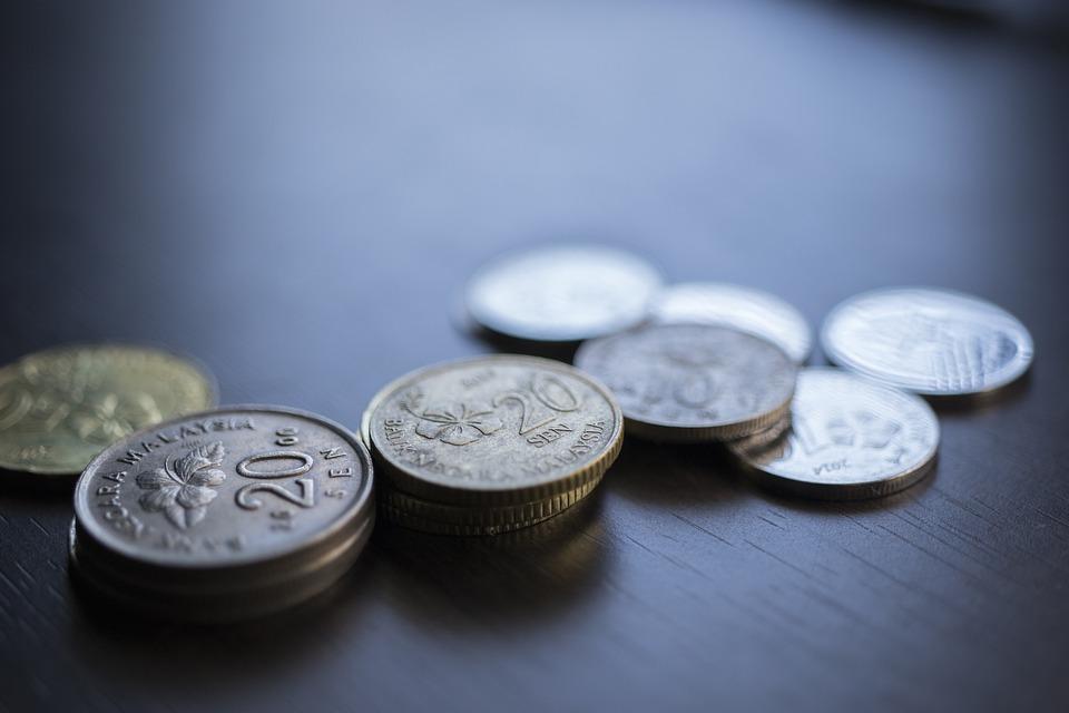 malajské mince